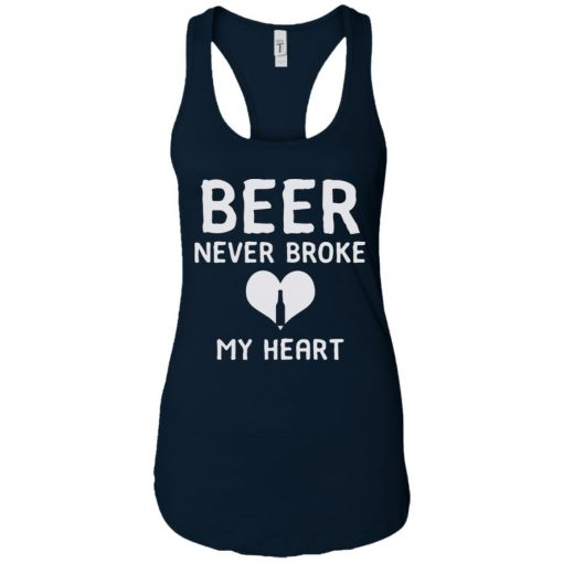Official Beer Never Broke My Heart Classic T-shirt Ladies Tank top