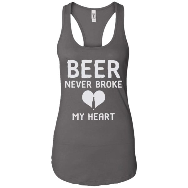 Official Beer Never Broke My Heart Classic T-shirt Ladies Tank top