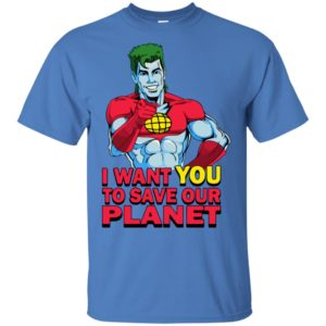 Planeteer Call I Want You To Save Our Planet Limited Edition Classic T-Shirt