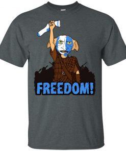 Freedom Dobby Classic Funny T-shirt