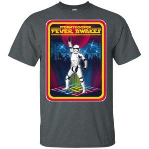 Stormtrooper Fever Awakes Star Wars Classic T-shirt