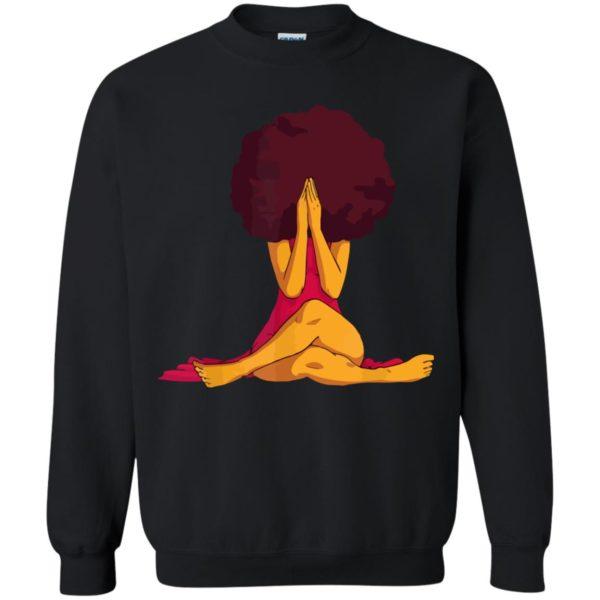 African American Afro Women Black Girl Magic Natural Hair T-Shirt