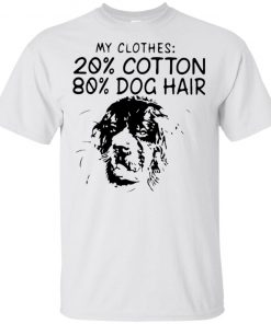 My Clothes 20 Cotton 80 Dog Hair Shirt Tank top