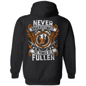 Never Underestimate The Power Of Fuller Shirt Tank top Long Sleeves
