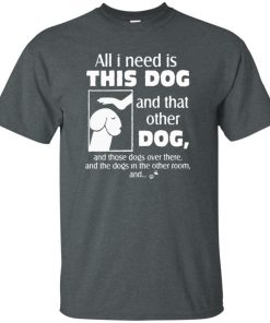 All I Need Is This Dog Tank top Ladies Classic Tank top Long Sleeves