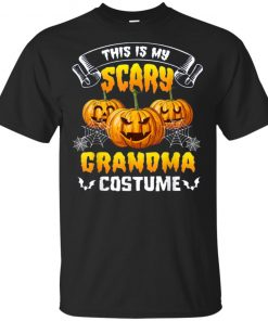 This Is My Scary Grandma Costume Halloween T-Shirt