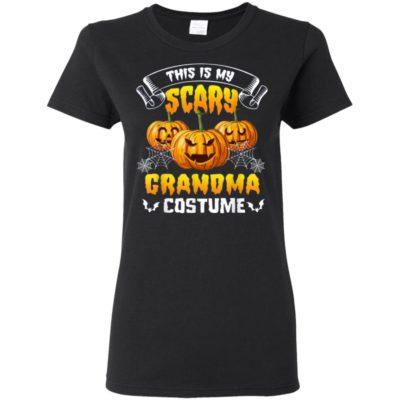 This Is My Scary Grandma Costume Halloween T-Shirt