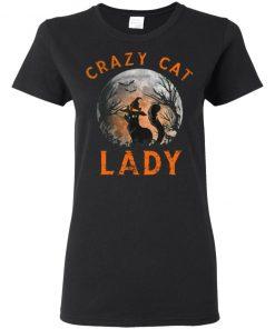 Crazy Cat lady Moon Halloween Cat Costume Halloween Shirt