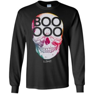 Funny Halloween Skull Shirt Booooollshit Adult Gift