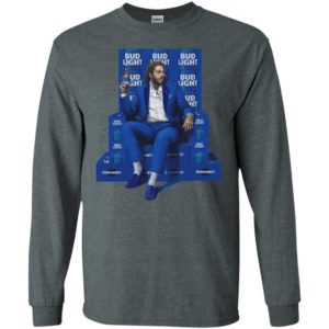 This is Malone's favourite spot when he is in town, and also the place where he decided to take his new lookbook of Bud Light merchandise.