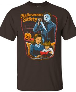 Halloween Safety A Sitter's Guide Shirt Ls Sweatshirt Hoodie
