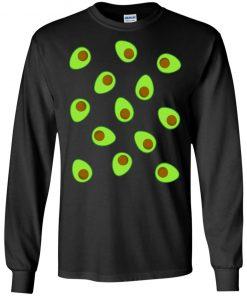 Holy Guacamole Avocado Couples Halloween Costume T-Shirt Ls Hoodie