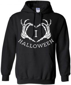 I Love Halloween Hoodie Shirt Tank Ls