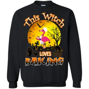 This Witch Loves Baking Halloween T-Shirt