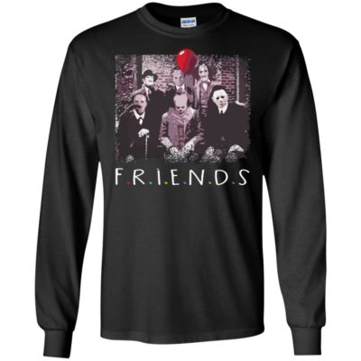 Friends Halloween Horror Team Scary Movies Costume Creepy Sweatshirt