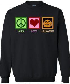Peace Love Halloween Long Sleeve