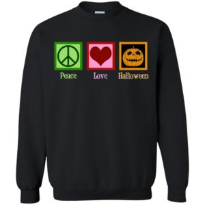 Peace Love Halloween Long Sleeve