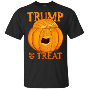 Trump or Treat Halloween Pumpkin Party Shirt Tank Ls Hoodie