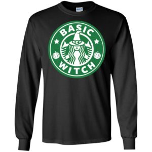 Basic Witch Halloween Drinking Party Long Sleeve T-Shirt Hoodie