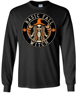 Basic Fall Witch Starbuck Style Halloween T-shirt Ls Hoodie