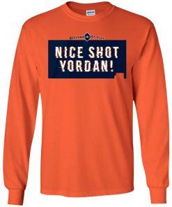 Yordan Alvarez Shirt - Nice Shot Yordan, Houston, MLBPA El Grande 455 feet T-shirt