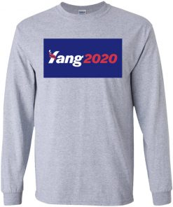 Andrew Yang For President 2020 Shirt Tank top Long sleeves