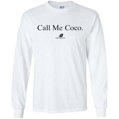 Call Me Coco Newbalance Shirt Tank top Long sleeves