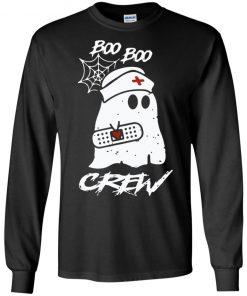 Ghost Nurse Boo Boo Crew Hoodie Long Sleeve Sweatshirt