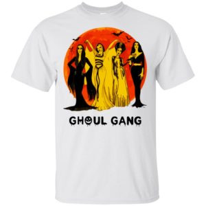 Elvira Morticia Lily Bride Ghoul Gang Halloween T-Shirt Long Sleeve Hoodie