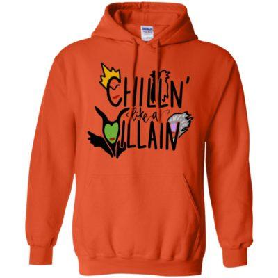 Chillin' like a Villain Disney Halloween Shirt Tank top long sleeves