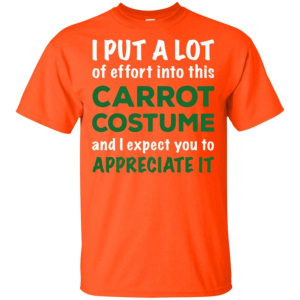 I Put A Lot Of Effort Into This Carrot Custome And Expect You To Appreciate It