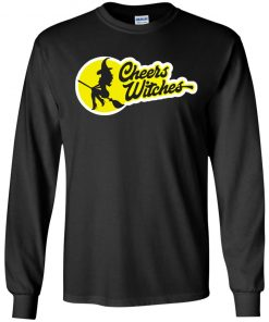 Cheers Witches Funny Quote Womens Witch Moon Halloween Gift Shirt