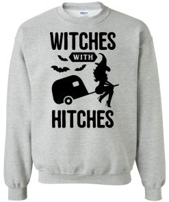 Witches with Hitches Funny Womens Halloween Trailer Camping