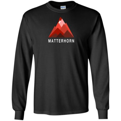 Switzerland Matterhorn Mountain Climbing Swiss Alps T-Shirt