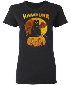 Vampurrr Cat Halloween Shirt Long Sleeve Hoodie