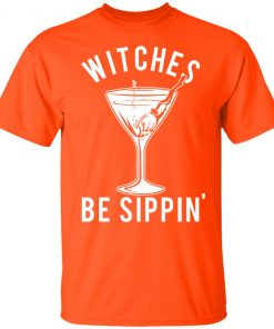 Witches Be Sippin' Halloween Women's T-shirt Hoodie