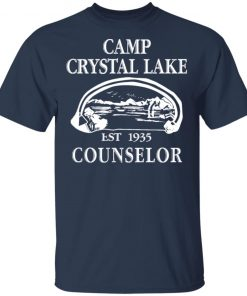 Camp Crystal Lake EST 1935 Counselor Shirt