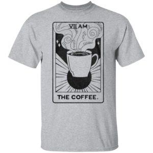VII AM The Coffee Tarot Card Shirt Tank top Ls