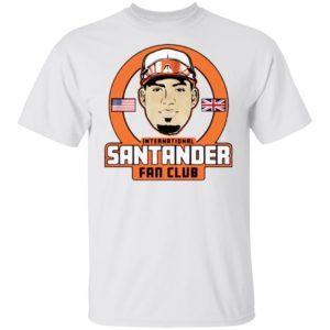 International Anthony Santander Fan Club Shirt