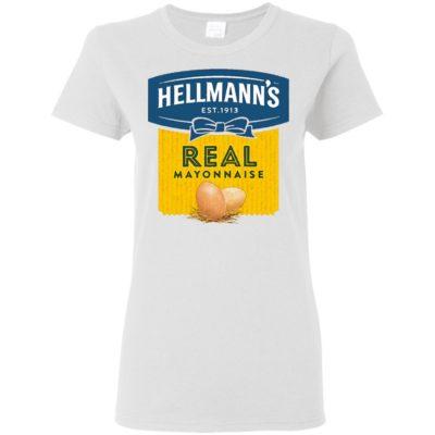 Hellmann's Real Mayonnaise Crew T Shirt Long Sleeve Hoodie Retro 70's 80's