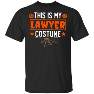 This is My Lawyer Costume Halloween Shirt Ls Hoodie
