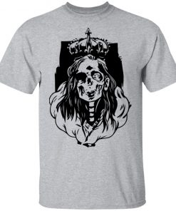 Skeleton Queen horror fans & Halloween Shirt Ls Hoodie
