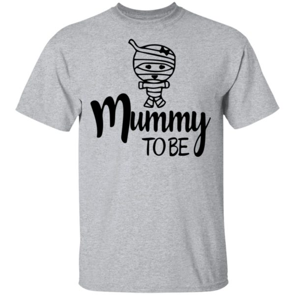 Mummy To Be Wo Halloween Shirt