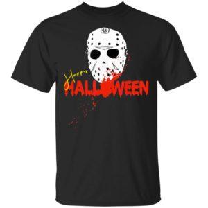 Die Halloween Maske Happy Halloween Shirt Hoodie Ls