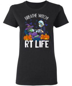 Halloween Breathe Witch RT Life Shirt