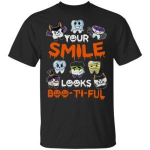 Your Smile Looks Boo-ti-ful Halloween Shirt