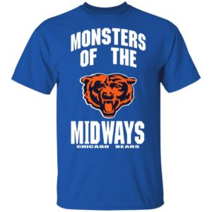MONSTERS OF THE MIDWAY CHICAGO BEARS SHIRT