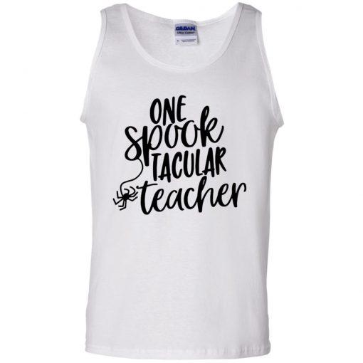 One Spook Tacular Teacher Halloween Shirt