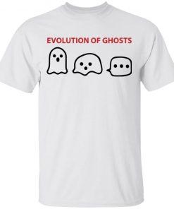 Evolution of Ghosts Funny Halloween Shirt
