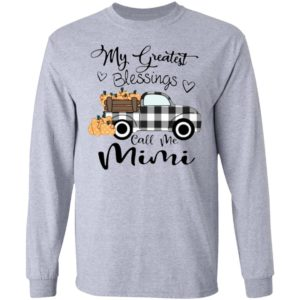 Car my greatest blessings call me Mimi shirt